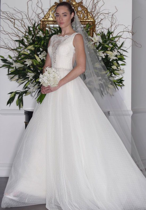 L6139 (skirt) Wedding                                          dress by Romona Keveza Collection