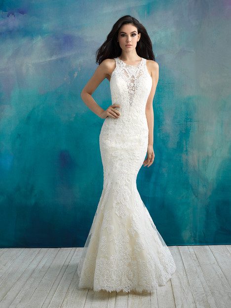 9504 Wedding                                          dress by Allure Bridals