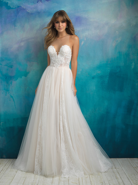 9505 Wedding                                          dress by Allure Bridals