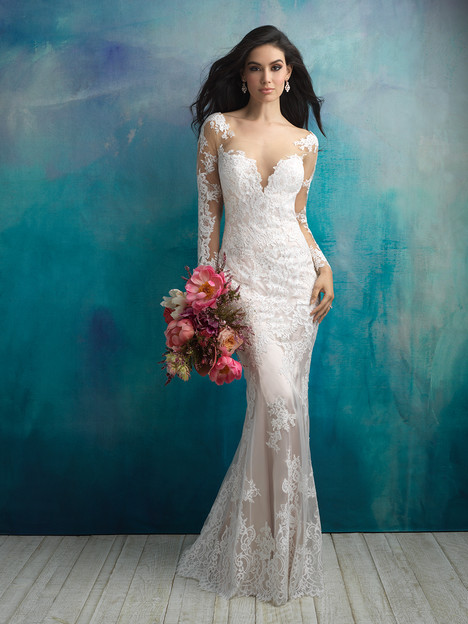 9506 Wedding                                          dress by Allure Bridals