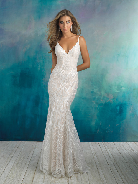 9508 Wedding                                          dress by Allure Bridals