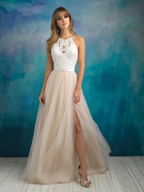 9509 Wedding                                          dress by Allure Bridals