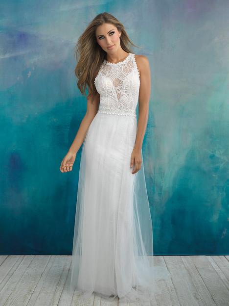 9518 Wedding                                          dress by Allure Bridals