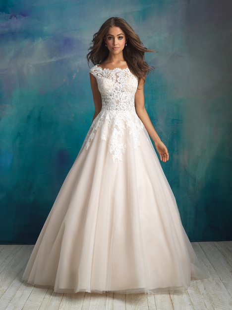 9520 Wedding                                          dress by Allure Bridals
