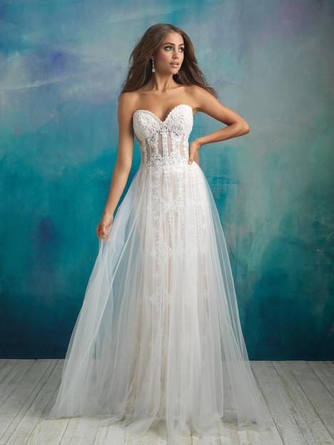 9523 Wedding                                          dress by Allure Bridals