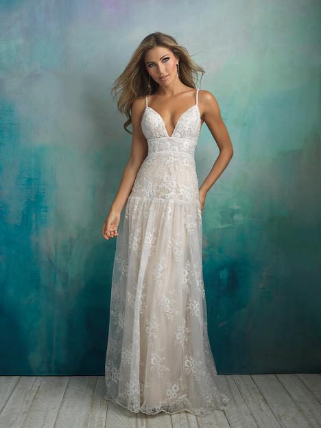 9526 Wedding                                          dress by Allure Bridals