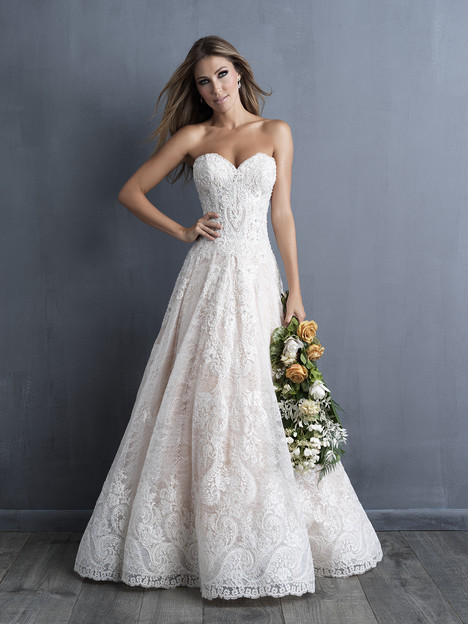 C481 Wedding                                          dress by Allure Couture