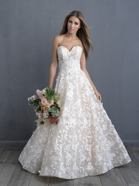 C486 Wedding                                          dress by Allure Bridals : Allure Couture