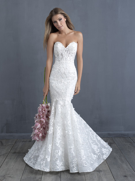C487 Wedding                                          dress by Allure Bridals : Allure Couture