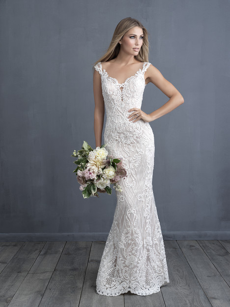 C489 Wedding                                          dress by Allure Bridals : Allure Couture