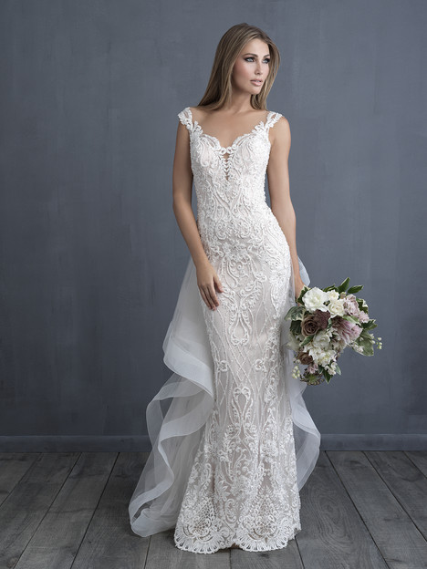 C489 (+ train) Wedding                                          dress by Allure Bridals : Allure Couture