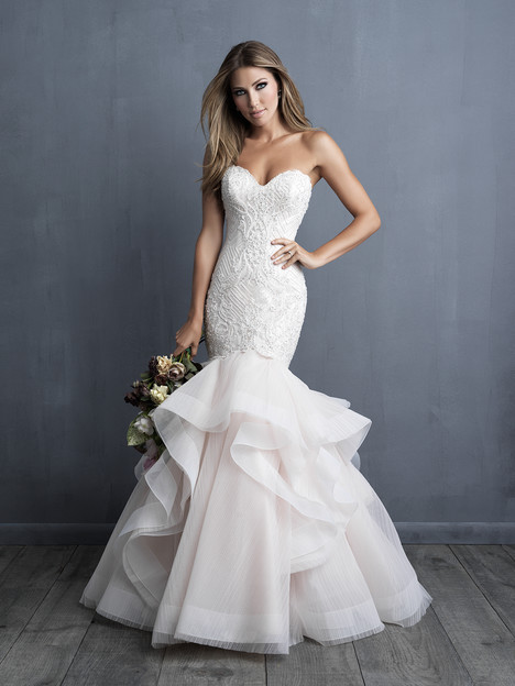 C491 Wedding                                          dress by Allure Bridals : Allure Couture
