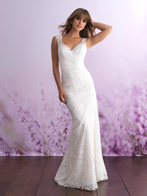3104 Wedding                                          dress by Allure Bridals : Allure Romance