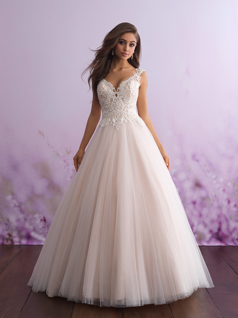 3107 gown from the 2018 Allure Romance collection, as seen on dressfinder.ca