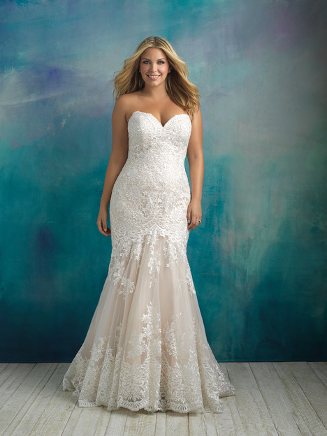 W410 Wedding dress by Allure Women