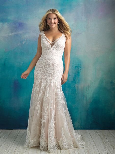 W411 Wedding                                          dress by Allure Women