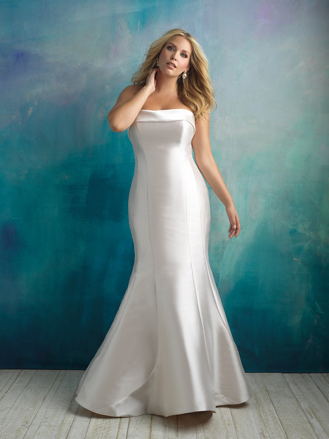 W412 Wedding                                          dress by Allure Women