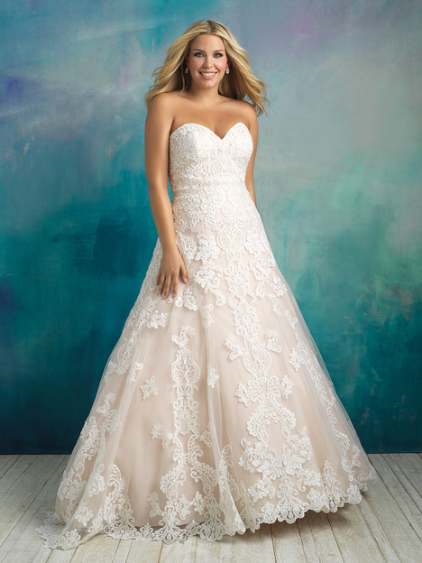 W413 Wedding                                          dress by Allure Women