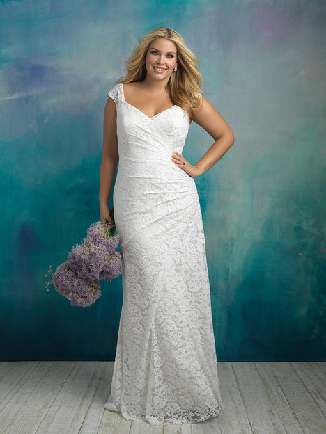 Style W414 gown from the 2018 Allure Women collection, as seen on dressfinder.ca