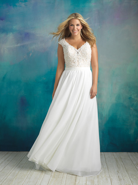 W415 Wedding                                          dress by Allure Women