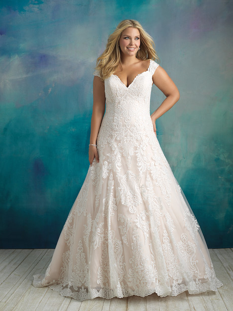 W416 Wedding                                          dress by Allure Bridals : Allure Women