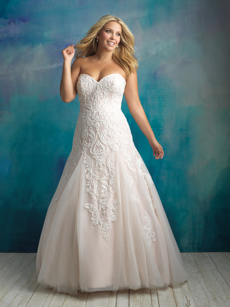 W417 Wedding                                          dress by Allure Women