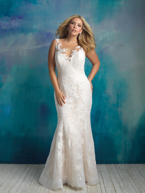 W418 Wedding                                          dress by Allure Women