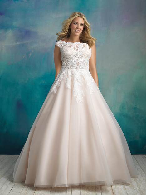 W419 (2) Wedding                                          dress by Allure Women