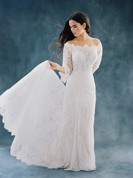 F100-Camellia Wedding                                          dress by Wilderly Bride