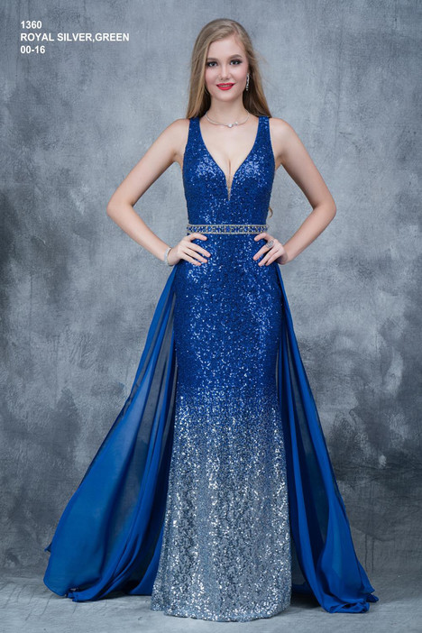 1360 (royal) Prom                                             dress by Nina Canacci
