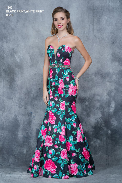 1362 (black) Prom                                             dress by Nina Canacci