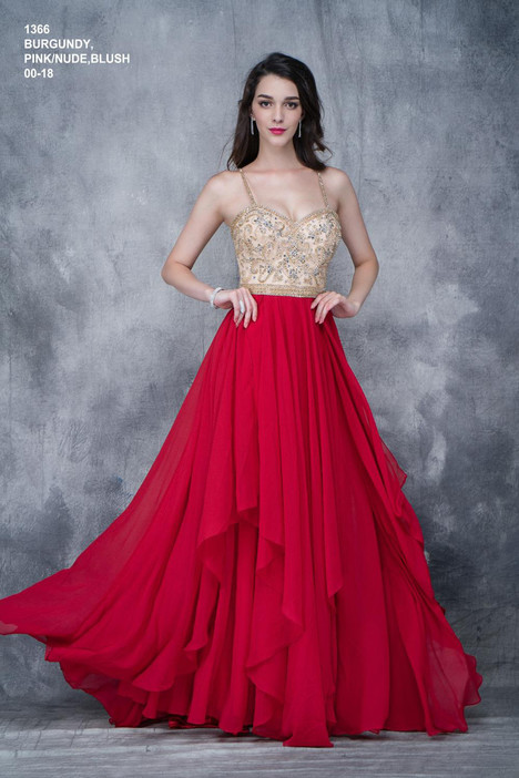 1366 (burgandy) Prom                                             dress by Nina Canacci