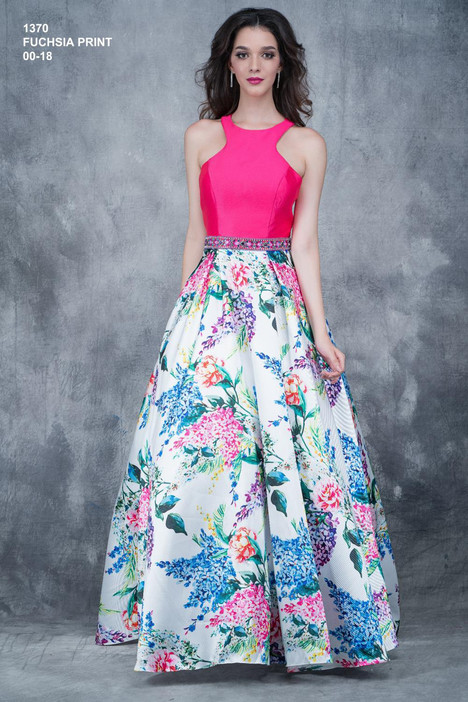 1370 (fuchsia) Prom                                             dress by Nina Canacci