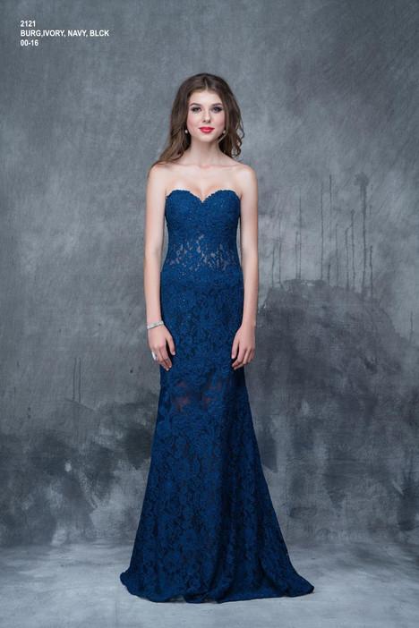 2121 (navy) Prom                                             dress by Nina Canacci