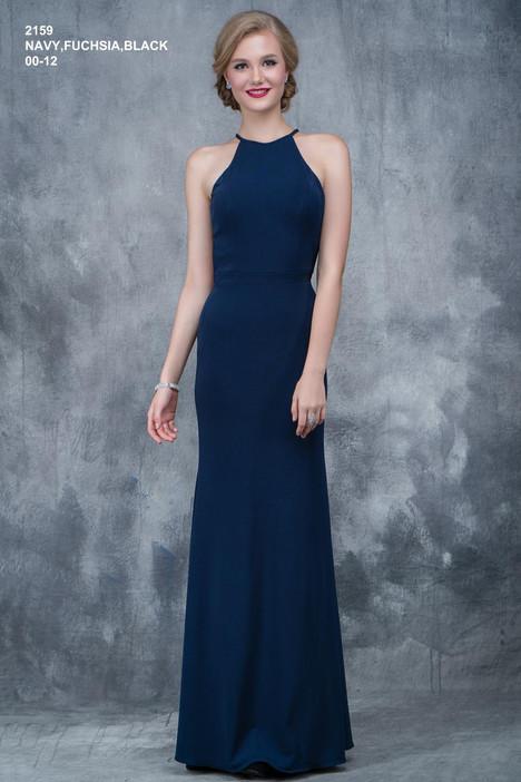 2159 (navy) Prom dress by Nina Canacci
