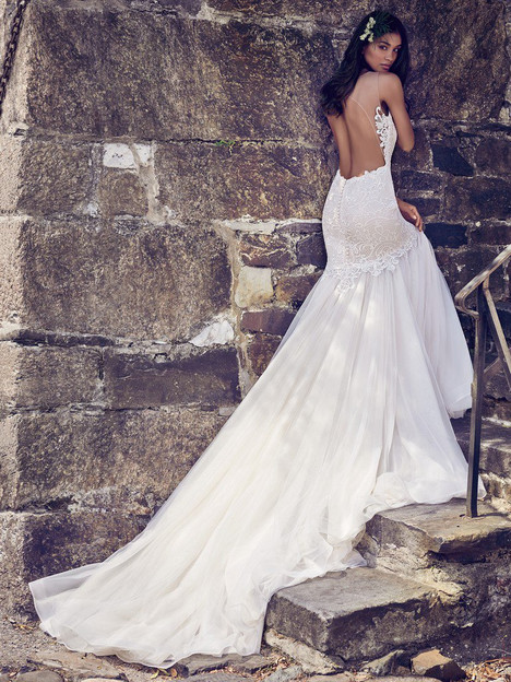 Adaleine (8MC564) (back) Wedding                                          dress by Maggie Sottero
