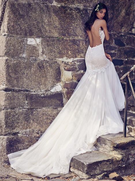 Adaleine (back) Wedding                                          dress by Maggie Sottero