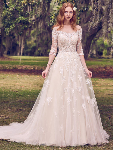 Bree Wedding                                          dress by Maggie Sottero