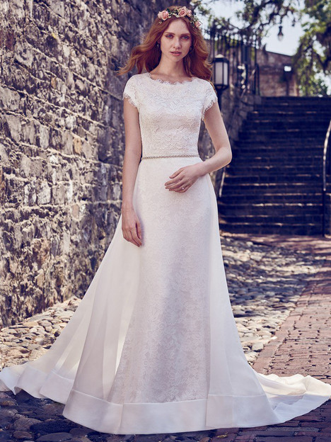 Raylene (8MW479) (+ over skirt) Wedding                                          dress by Maggie Sottero