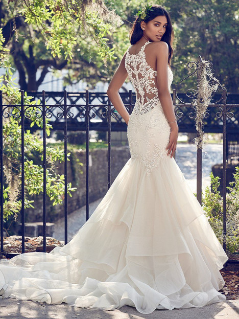 Veda (back) Wedding dress by Maggie Sottero