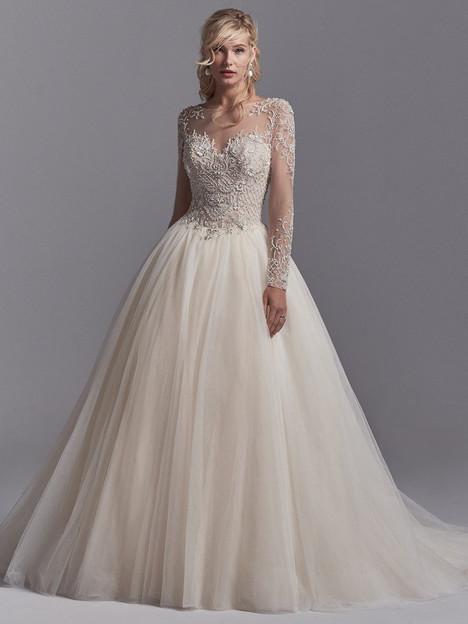 Calvin Wedding                                          dress by Sottero & Midgley