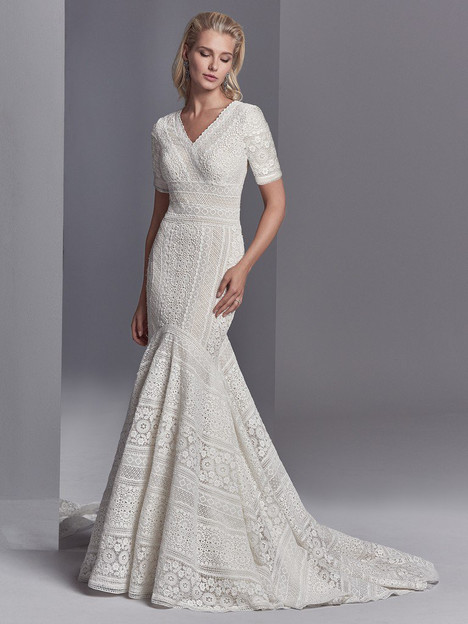Cooper Rose Wedding                                          dress by Sottero and Midgley