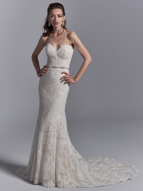 Graham Wedding                                          dress by Sottero & Midgley