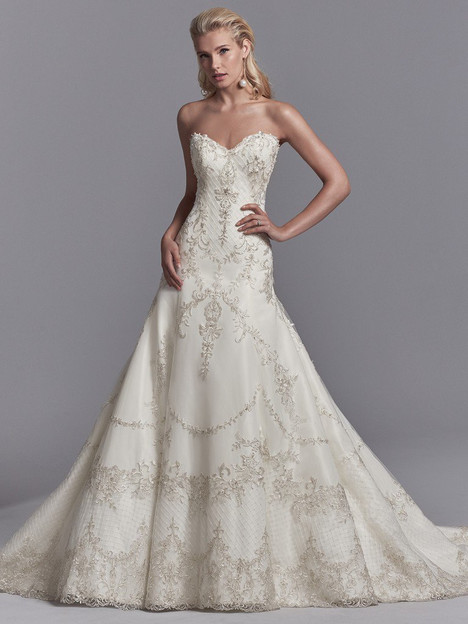 Granger Wedding                                          dress by Sottero & Midgley