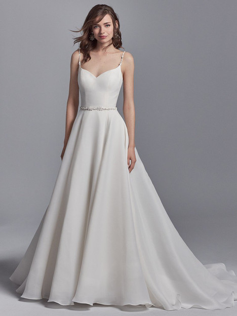 Kyle Wedding                                          dress by Sottero and Midgley