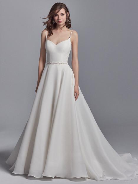 Kyle Wedding                                          dress by Sottero & Midgley