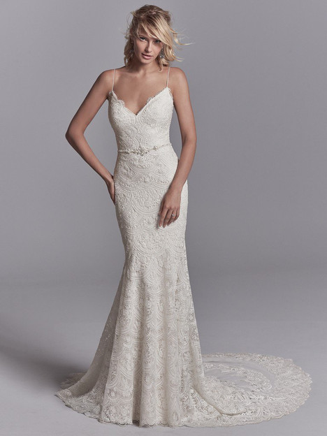 Maxwell Wedding                                          dress by Sottero and Midgley