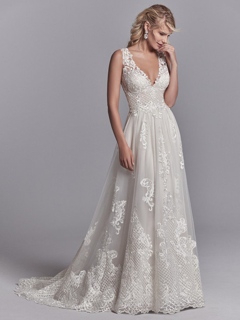 Oliver Wedding                                          dress by Sottero & Midgley