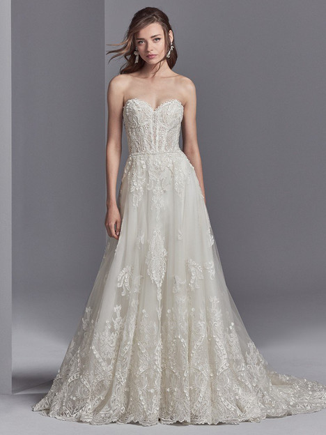 Watson Wedding                                          dress by Sottero & Midgley