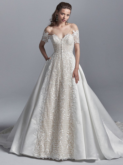 Zeta Wedding                                          dress by Sottero & Midgley